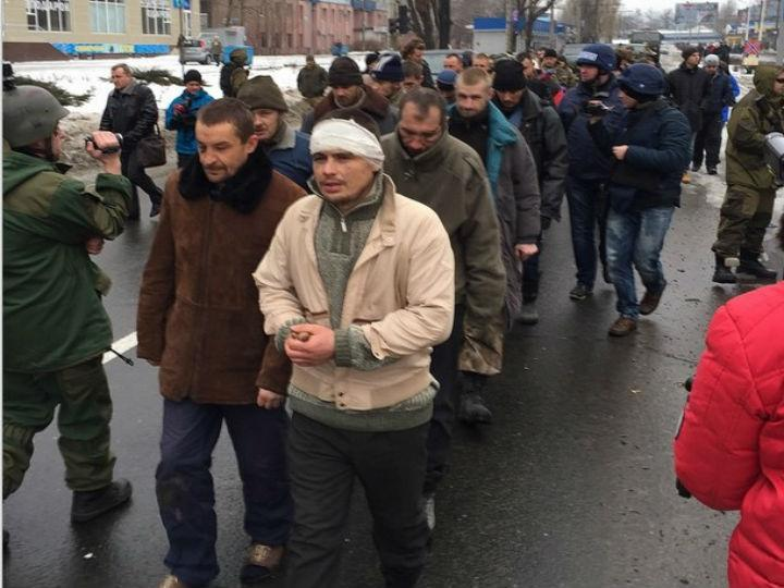 Separatistas terão capturado cerca de 17 soldados ucranianos (Instagram)