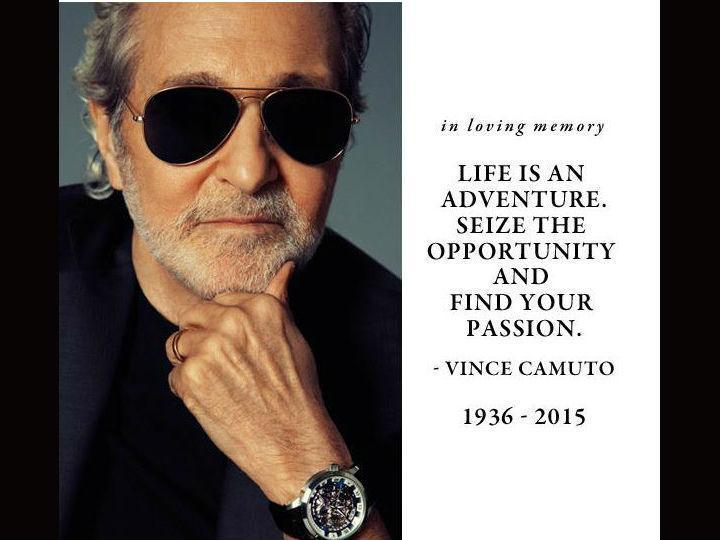 Designer Vince Camuto morreu esta quarta-feira (Twitter)