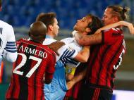 Lazio-Milan (REUTERS/ Tony Gentile)