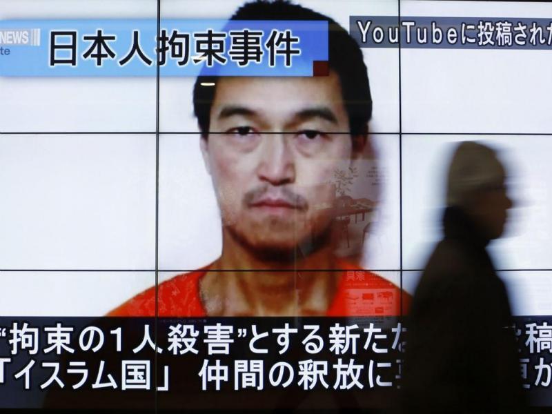 Refém japonês nas mãos do Estado Islâmico (REUTERS)