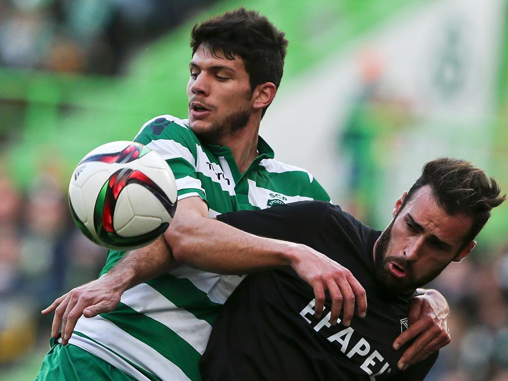 Sporting-Académica (LUSA/ Manuel de Almeida)