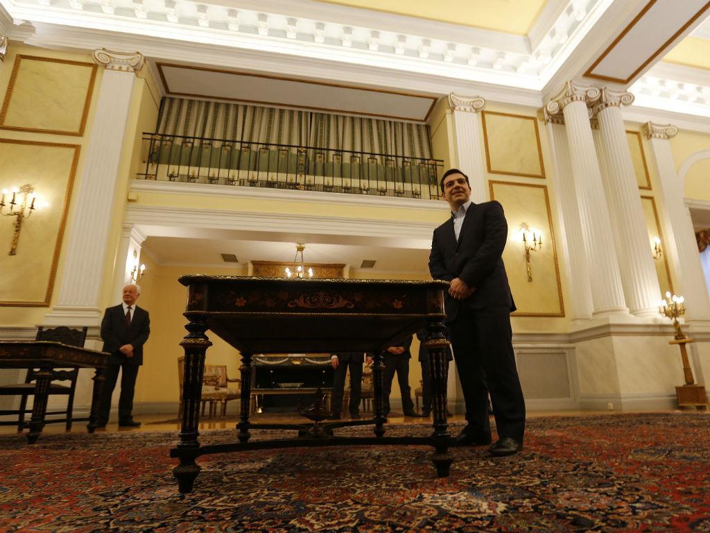 Tomada de posse de Alexis Tsipras como primeiro-ministro (Reuters)