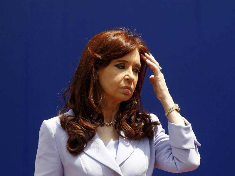 Cristina Kirchner [Reuters]