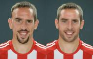 Ribery depois do Photoshop