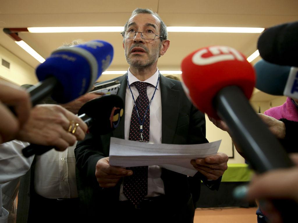 Conferência de imprensa do Conselho de Administração do Hospital Garcia de Orta (LUSA)
