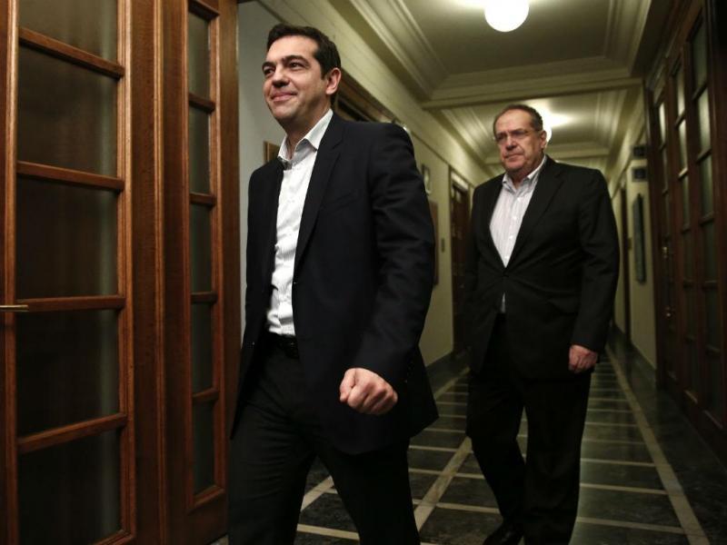 Primeiro-ministro grego Alexis Tsipras (Reuters)