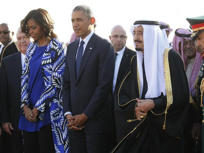 Barack e Michelle Obama visitam Arábia Saudita (Reuters)