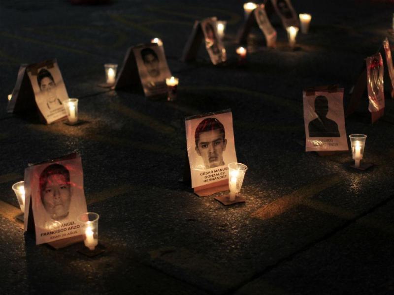 Estudantes desaparecidos no México (REUTERS)