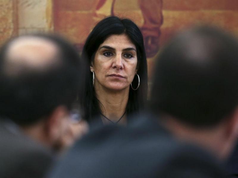 Inês Viegas, da KPMG, na Comissão Parlamentar de Inquérito à gestão do BES e do Grupo Espírito Santo (MANUEL DE ALMEIDA/LUSA)