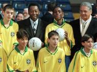Pelé e Fernando Henrique Cardoso (Reuters)
