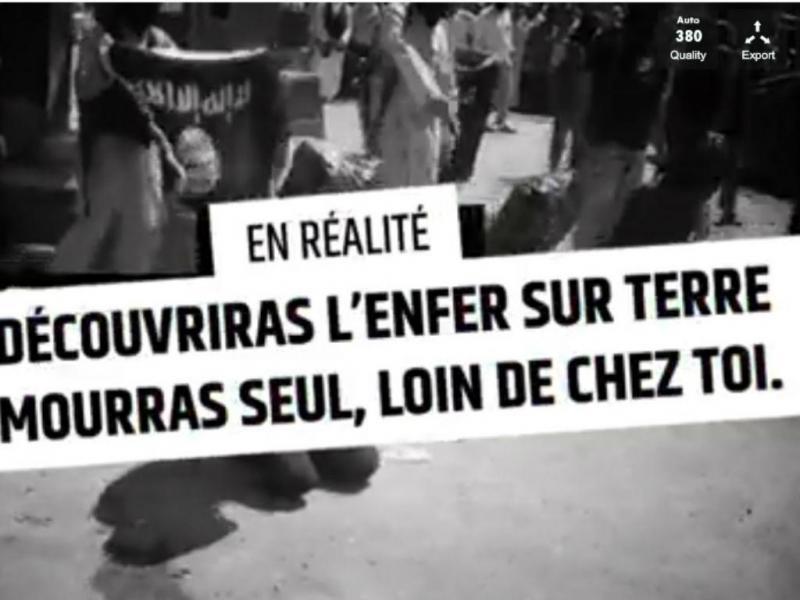 Vídeo do governo francês