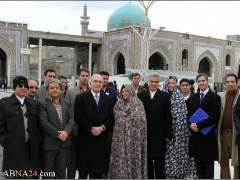 Rui Machete no Irão [Foto: ABNA24]