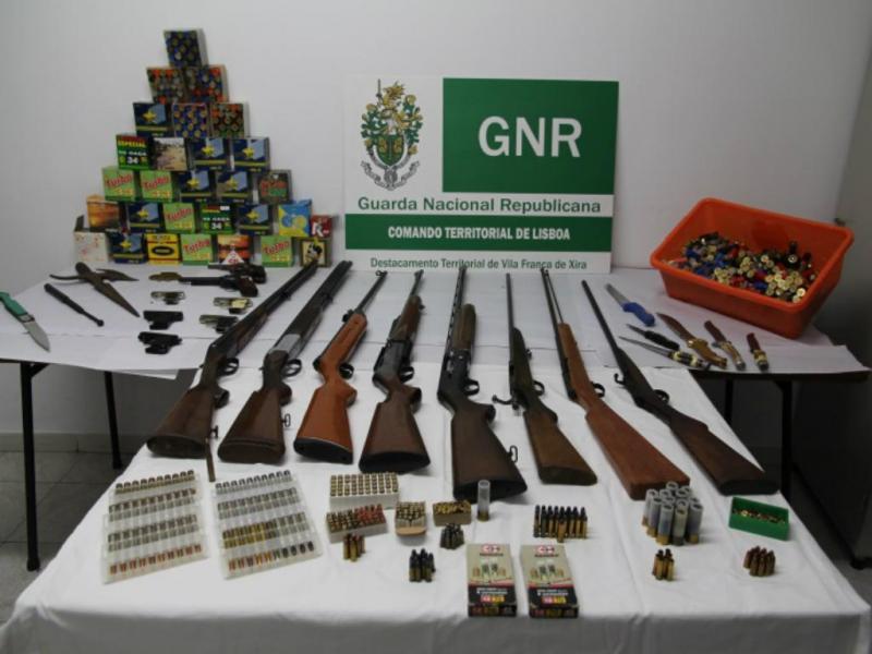 Apreensão em Vila Franca de Xira [GNR]