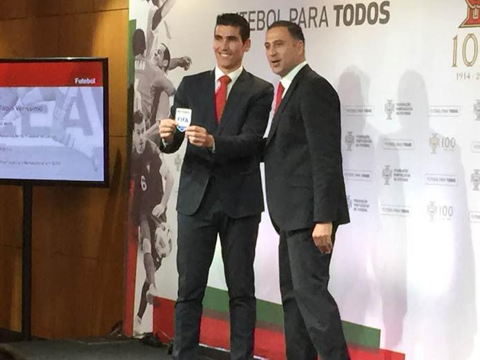 Fábio Veríssimo promovido a árbitro internacional