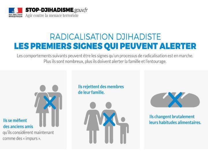 Infografia divulgada pelo governo francês está no centro de uma nova polémica nas redes sociais