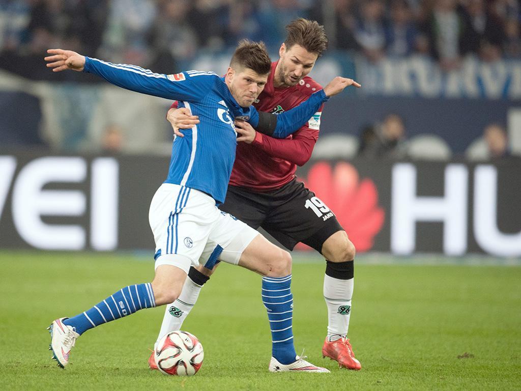 Schalke-Hannover (EPA/ Bernd Thissen)