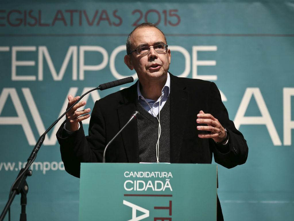 Viriato Soromenho Marques (ANTÓNIO COTRIM/LUSA)