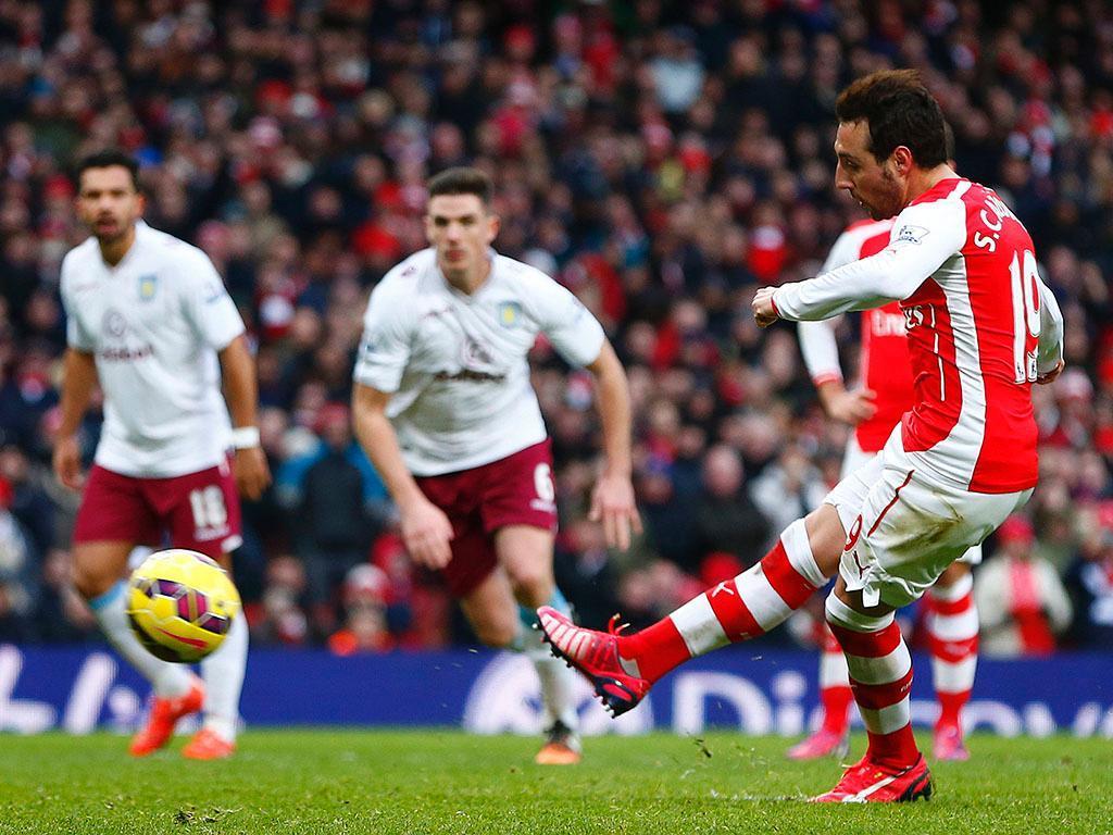 Arsenal-Aston Villa (REUTERS/ Eddie Keogh)