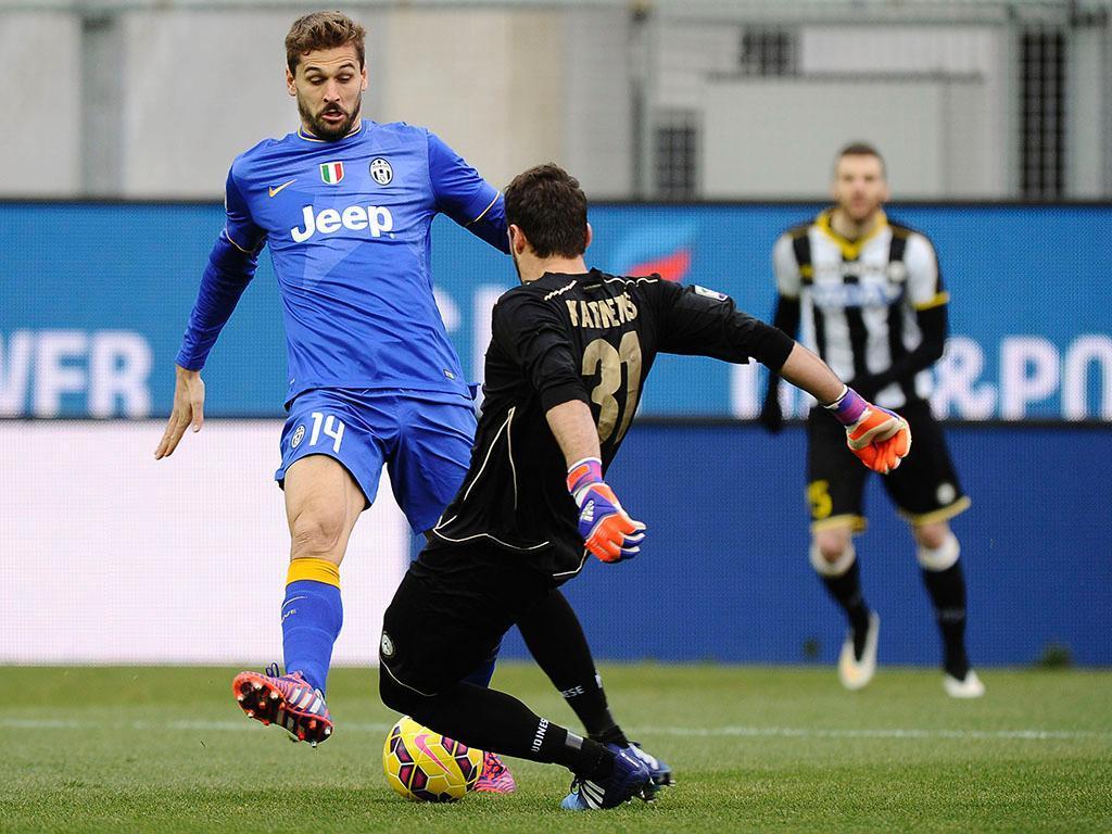 Udinese-Juventus (REUTERS/ Giorgio Perottino)
