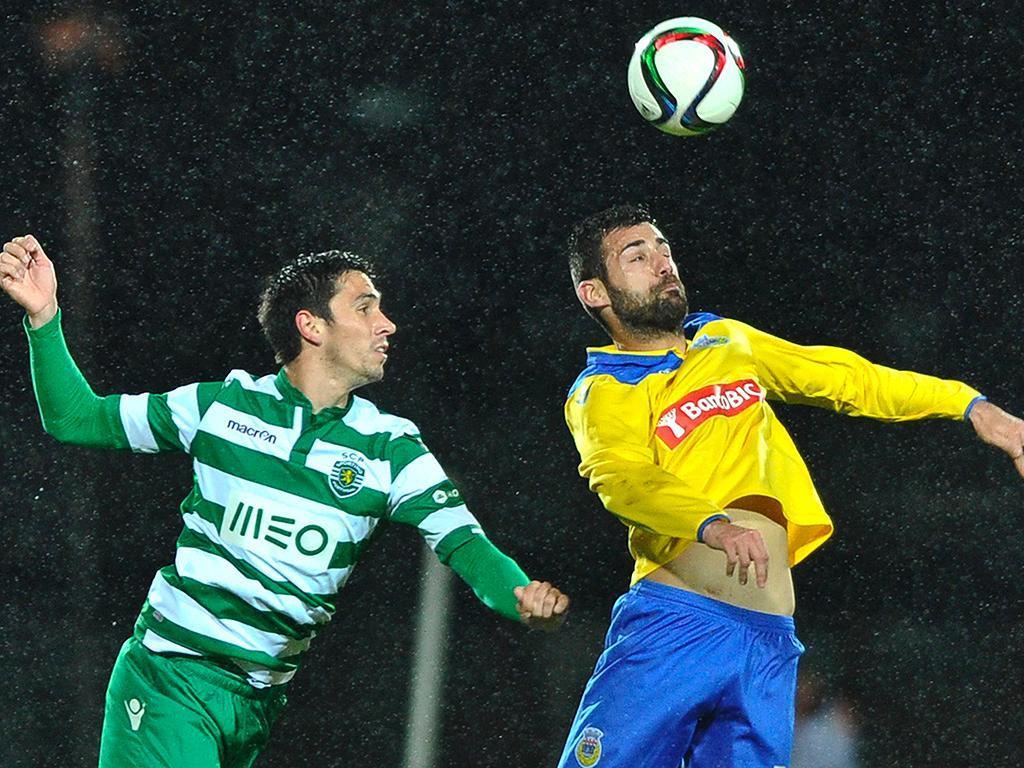 Arouca-Sporting (LUSA/ Octávio Passos)
