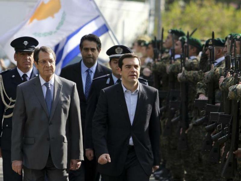 Alexis Tsipras no Chipre [Foto: Reuters]