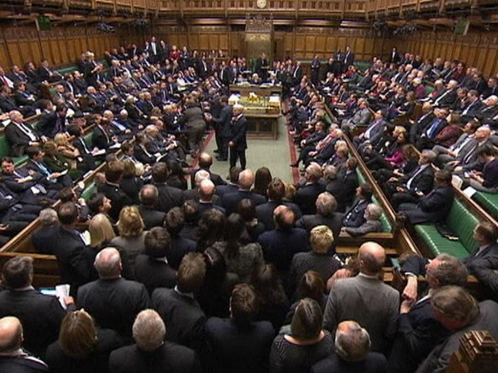 Parlamento britânico, Câmara dos Comuns (REUTERS)