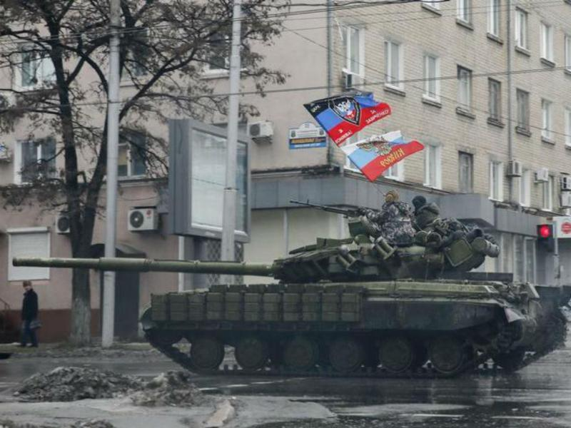 Separatistas pró-russos na Ucrânia [Foto: Reuters]