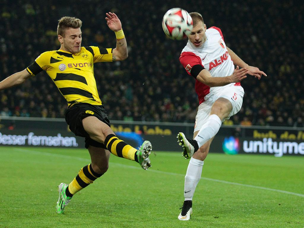 Dortmund-Augsburg (REUTERS/Ina Fassbender)