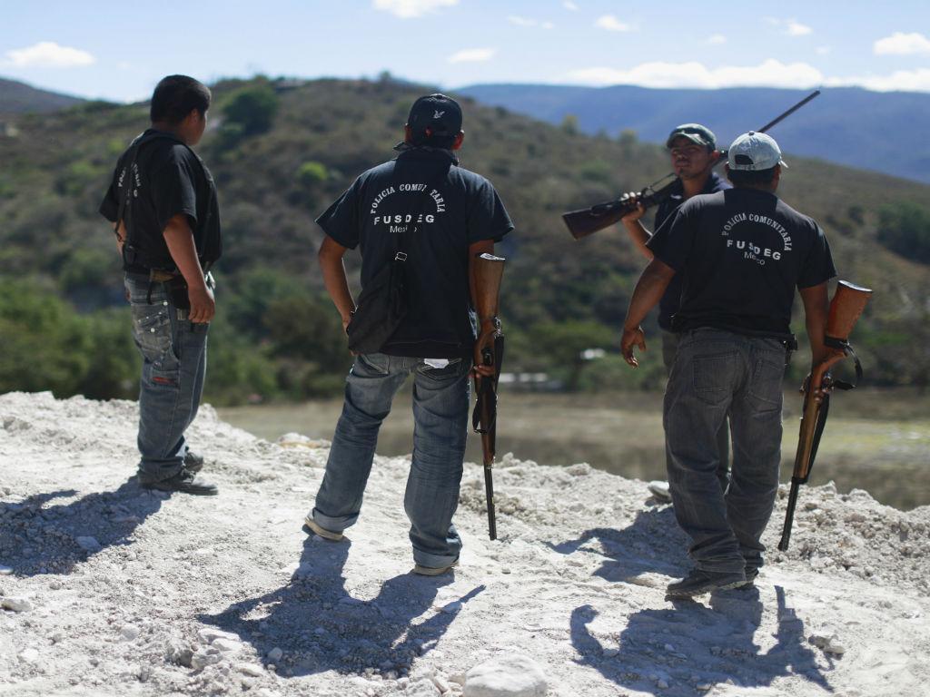 Polícia do México (Reuters)