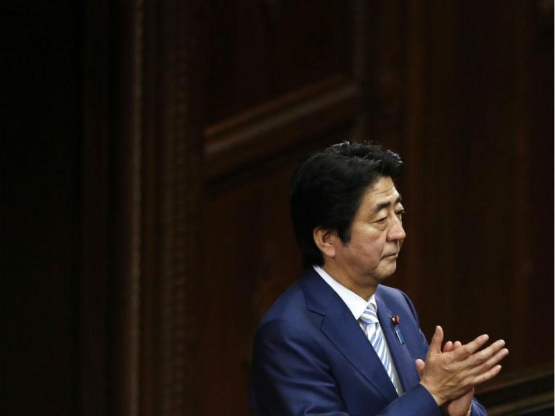 Primeiro-ministro japonês, Shinzo Abe
