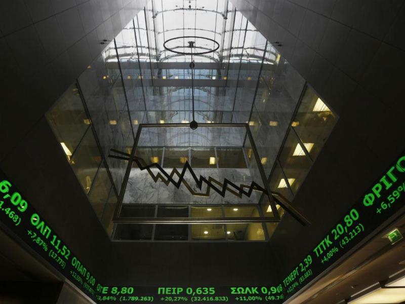 Bolsa de Atenas [Reuters]