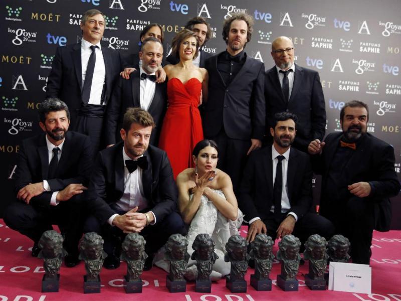 Equipa do filme «La isla mínima» - Prémios Goya [Reuters]
