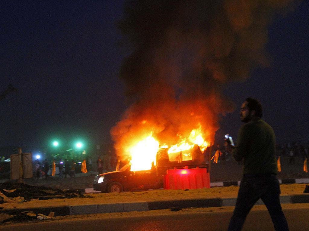 Confrontos no Egito (REUTERS/Stringer)