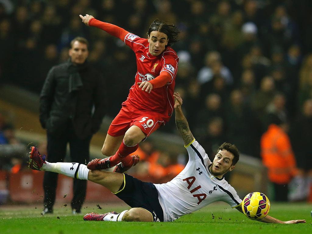 Liverpool-Tottenham (REUTERS/ Phil Noble)