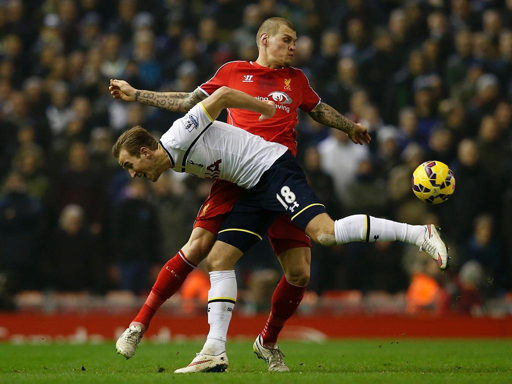 Liverpool-Tottenham (REUTERS/ Phil Noble)
