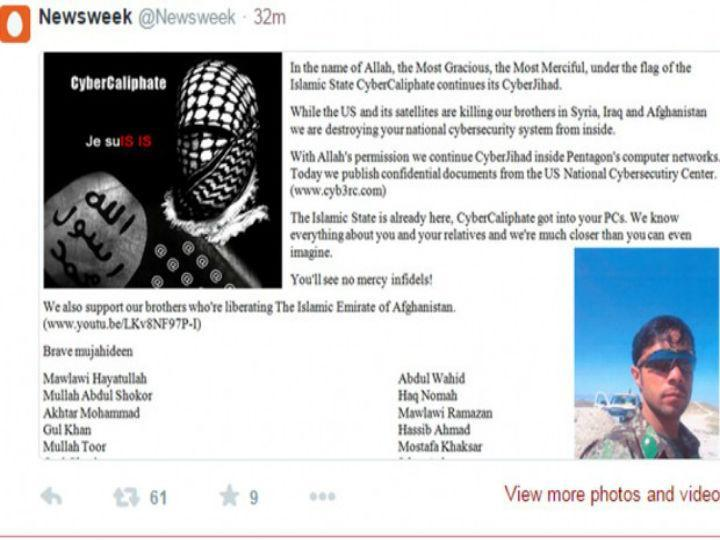 Twitter da revista «Newsweek» foi pirateado por hackers ligados ao Estado Islâmico