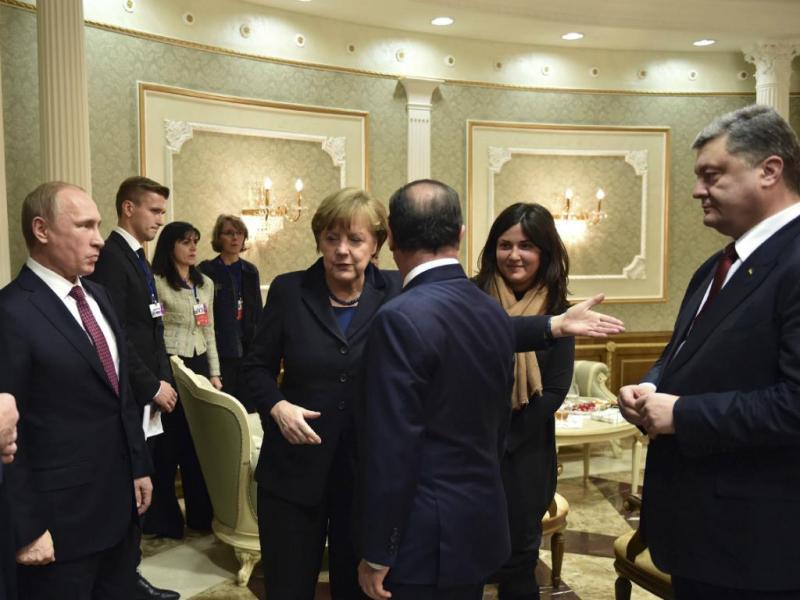 Putin e Poroshenko [Reuters]