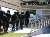 Exercícios de segurança nas instalações dos Jogos Olímpicos 2016 (REUTERS)