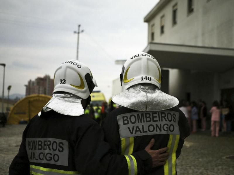 Incêndio no Hospital de Valongo (ESTELA SILVA/LUSA)