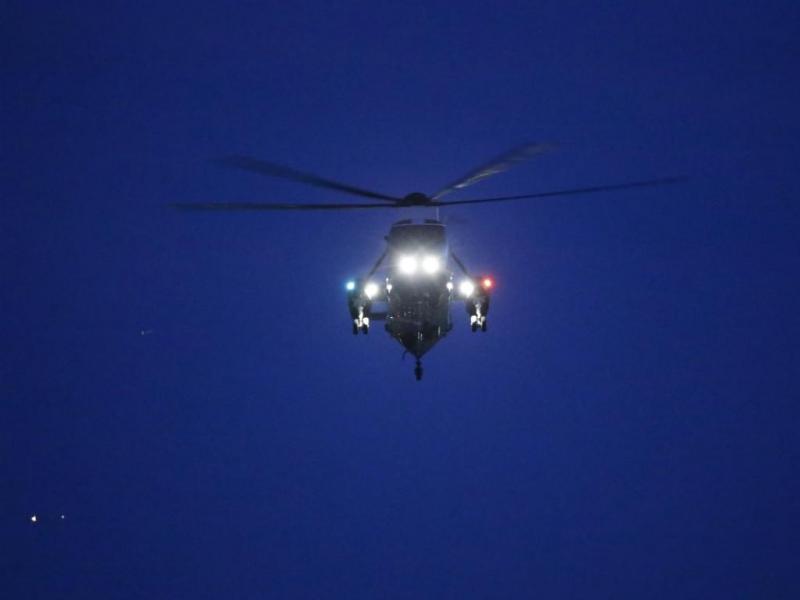 Helicóptero [Reuters]