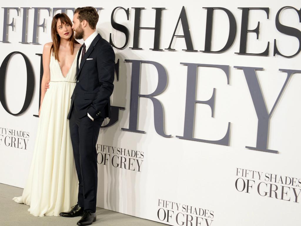 Londres - A estreia sensual de 50 Sombras de Grey [Reuters]