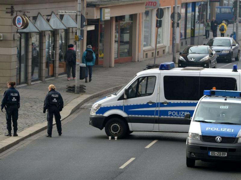 Desfile cancelado na Alemanha [Foto: EPA]
