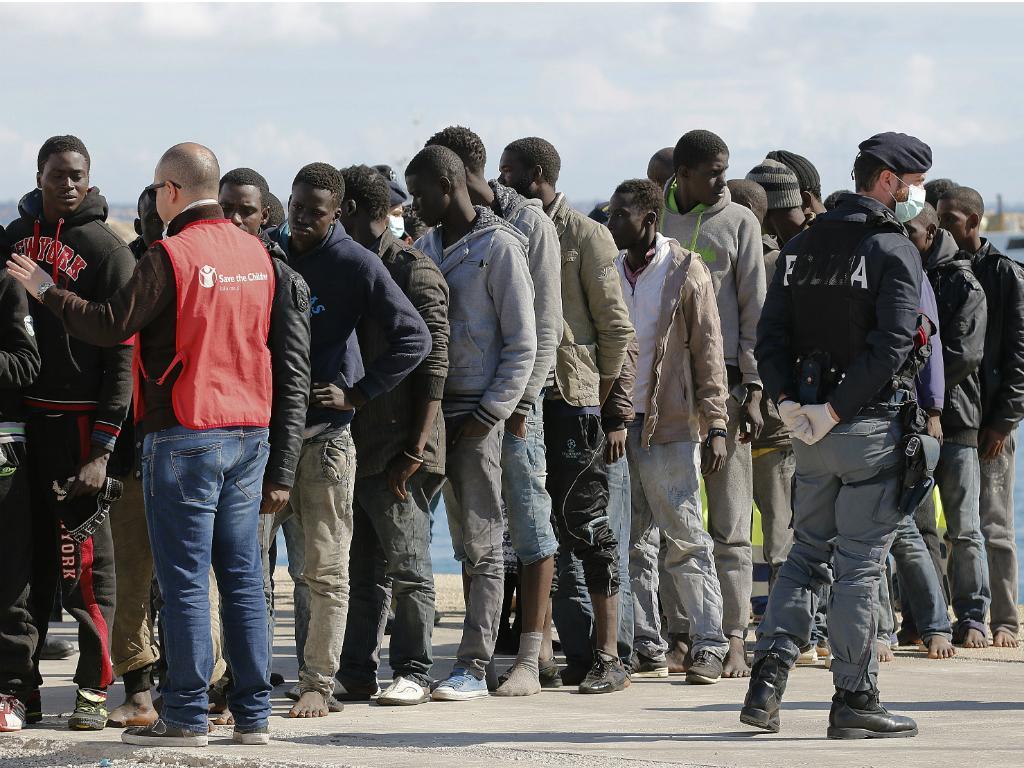 Imigrantes ilegais [Reuters]