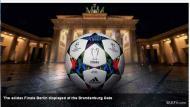 A bola da final da Liga dos Campeões