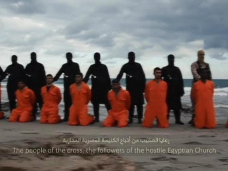 Estado Islâmico decapita de 21 cristãos [Reuters]
