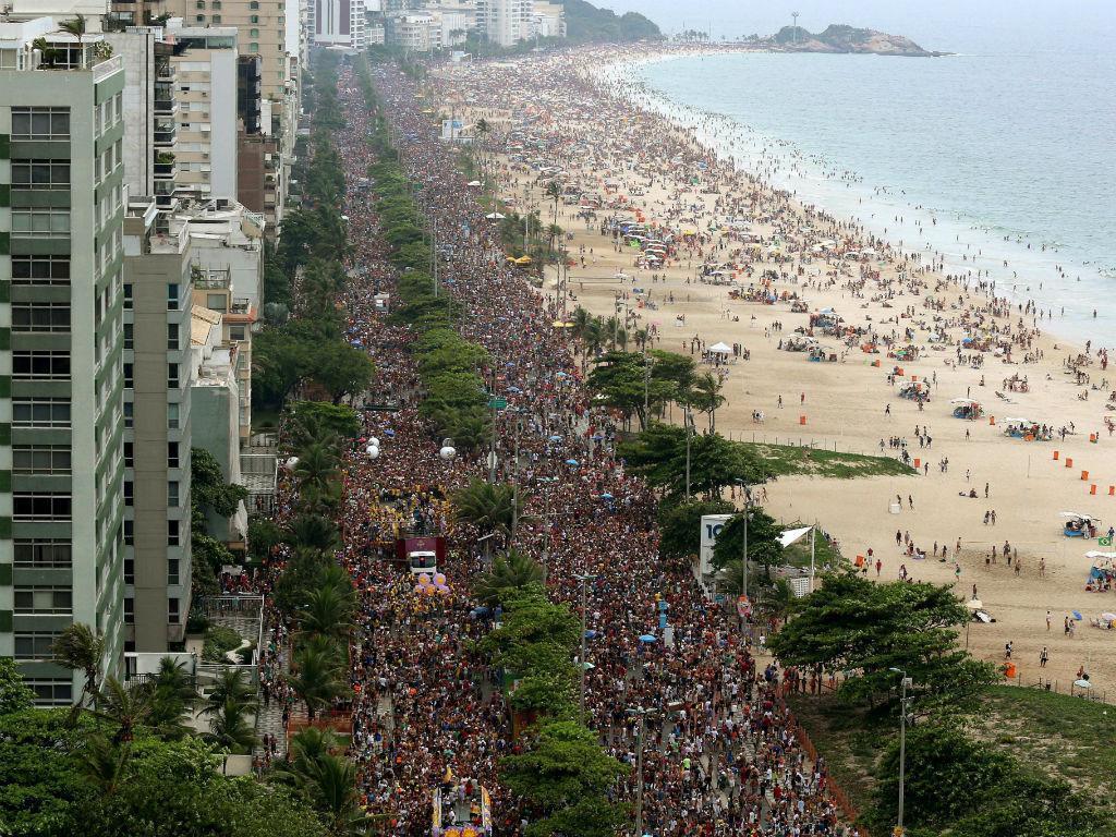 Carnaval no Brasil (EPA)