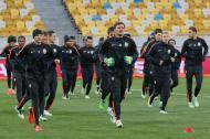 Liga dos Campeões: treino do Shakhtar Donetsk (Reuters)