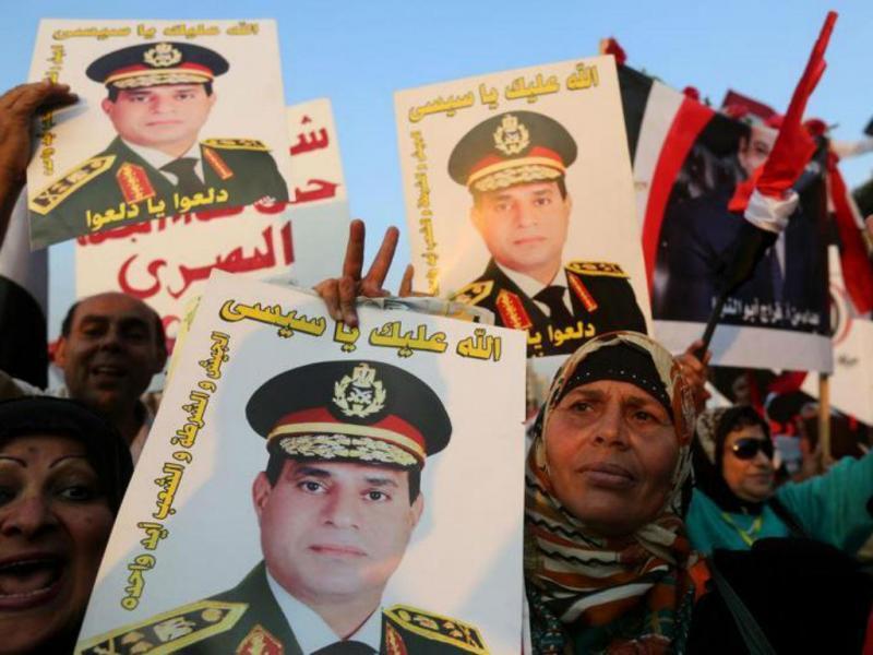 Al-Sissi [Foto: Reuters]