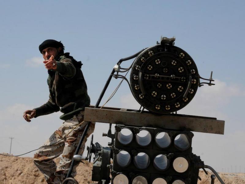 Conflito na Líbia (arquivo)