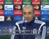 Di Matteo sobre Ronaldo: «É o melhor jogador do mundo»